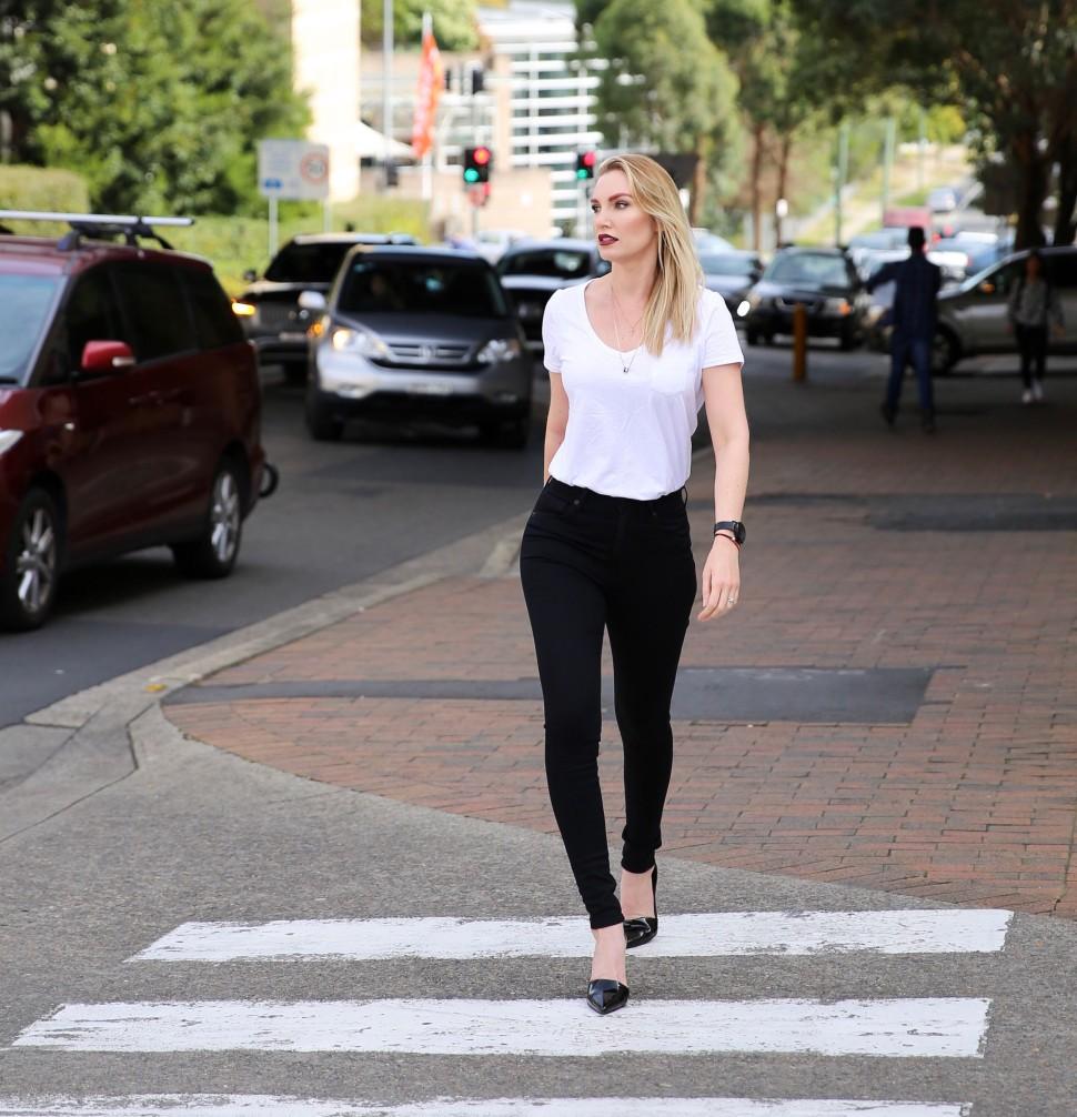 cropped walking