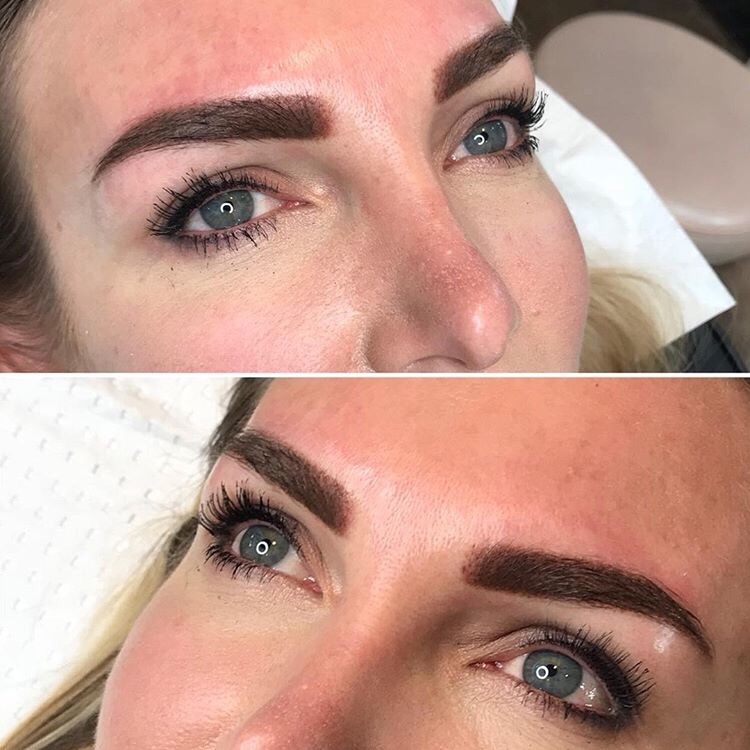 Jill Wright, eyebrow tattooing